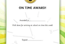 Editable School Certificates / A selection of editable certificates on a variety of different themes - ideal to use to reward pupils for achieving certain goals. #teachingresources