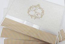 Convites de casamento / Convites de casamento