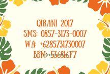 Gamis Qirani 2017 / Nanda CS 1 Qirani  : SMS: 085731730007 Whatsapp: +6285731730007 BBM: 536816F7