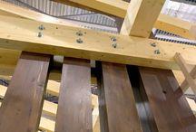 Фахверк из клеёного бруса - www.katan-dom.ru / Строительство фахверковых домов из клеёного бруса