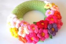 Crochet Door Wreaths