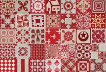 Quilts / Mainly drawn to geometric, vivid, contemporary.