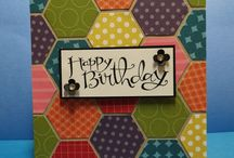 Stampin up Hexagon Punch