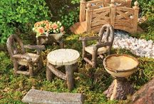 making a fairy garden / by Lisa Vandervort