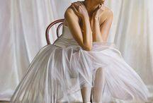 decoupage balerine, dansatoare
