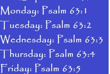 Bible Reading Plans / Weekly Bible Reading Plans #BiteofBread