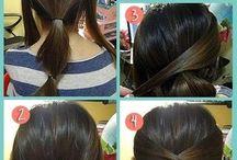 håruppsättming