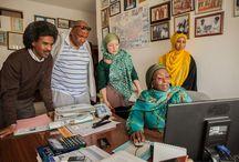 Somalian office workers