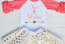 Birthday Outfits for Kids / Cute baby, toddler, and kids birthday shirts and outfits