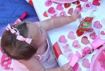 Hearts Party - lulu 1st Birthday