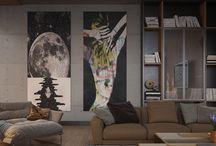 Room Design Ideas With Art
