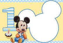 Invitaciones De Mickey Mouse Fiestas
