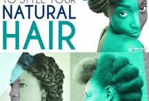Natural Hair Styles / by Tyra Sheppard