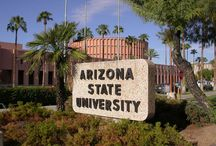 Arizona .  ASU . / Someone I love lives in AZ.   Arizona State University Sun Devils / by Lonna Converso