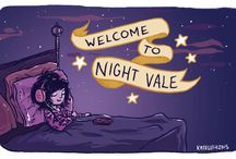 Welcome to Night Vale / All hail the mighty glow cloud