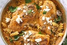 Main Dish Recipes / From meats to veggies and giant salads. These main dish recipes will satisfy even the hungriest of crowds. Dinner, lunch, main dish, steak, meatballs, hot dish, recipe.