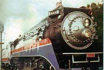 trains / by Darlene Terpening