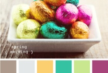 Hues / Finding Beautiful Colour Schemes, for my Mummy and I to crochet blankets out of <3 / by Dani Hunter
