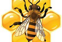 Bier / Kule morsome bier! Liker du det?!  Vis du liker det se på denne tavlen! Foresten det er bildet av bi kubber!