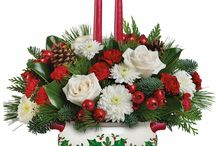 Christmas Floral Centrepieces 2014