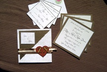 Wedding Invitations / Stationary / Everything from Save the Dates, Invitations, Thank you card ideas :)