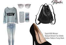 Outfits / Social WEB: http://www.yoamoloszapatos.com ♥ APP: http://bitly.com/yoamoapp o http://bit.ly/yoamoandroid / by Yo Amo Los Zapatos