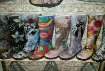funky wellies and eco-felt bags new in / eden4jewellery.co.uk