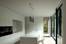 Kitchens / Blank canvas. Cool tone.
