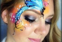 Face Painting 'Fly Away'