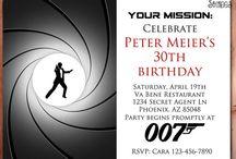 Spy / Secret Agent Parties
