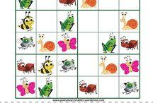 English for kids - Sudoku
