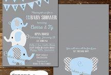 elephant baby shower