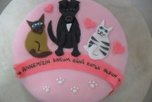 cats and dog cake