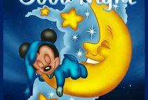 Hyvää yötä ja huomenta