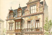 Рисунки Классических Домов