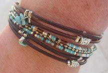 bracelet, perles