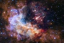 Dans l'espace...