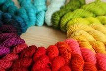 Rainbow Heirloom Yarn