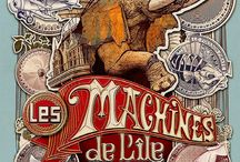 STEAMPUNK LES MACHINES