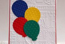 A balloon birthday card for / Logans birthday card ideas