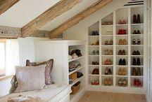 Shoe storage /hall way