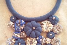 my work / handmade fabric items bags necklaces bracelets & more....