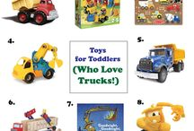 Toddler and Preschooler Toys / Recommended toys for toddlers and preschoolers.