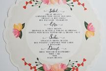 wedding :: menu