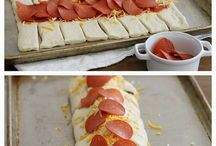 pepperoni pizza bread