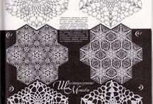 hexagonos crochet