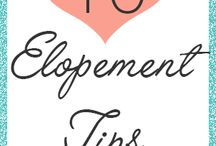 Elopement Ideas! / by The All Seasons Collection