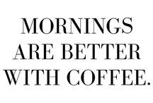 COFFEE / A coffee Pinterest board because, coffee.