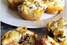 muffin salati  - e ......