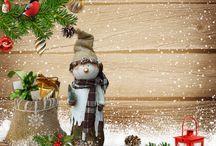 новогоднее - открытки,иллюстрации,картины